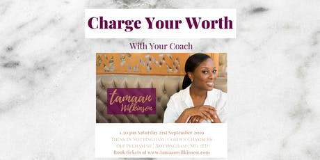 Charge Your Worth tickets