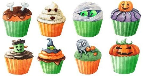Halloween/Fall Cupcake Workshop (Sunday)