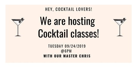 Cocktail Classes @Colette tickets