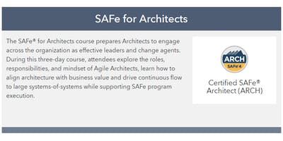 SAFe v4.6 for Architects Training n Certification class