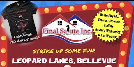Ms. Veteran America/Final Salute Bowling Fundraiser  tickets