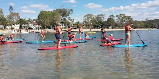 FREE Stand Up Paddle Boarding - Sunshine Coast Recreation Centre