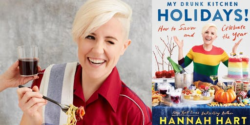 My Drunk Kitchen Holidays! - An Evening with Hannah Hart