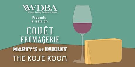 WDBA Cheese & Wine Tasting tickets