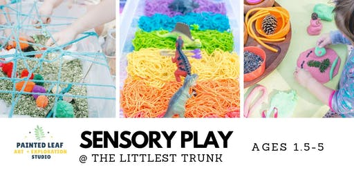 Sensory Playtime at The Littlest Trunk