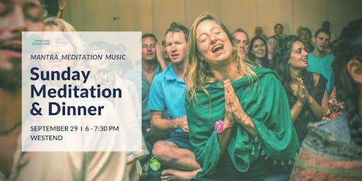 Guided Meditation & Dinner West End, 29th September