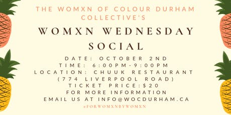 Womxn Wednesday Social tickets