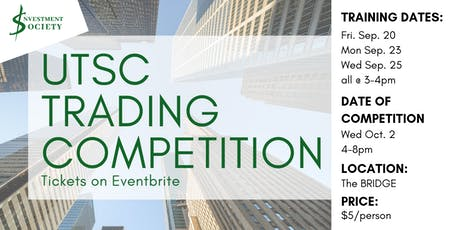 UTSC Trading Competition tickets