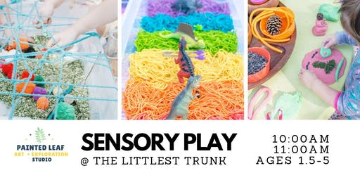 Sensory Play at The Littlest Trunk