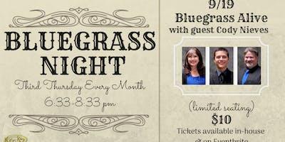 "Bluegrass Night with ""Bluegrass Alive"""