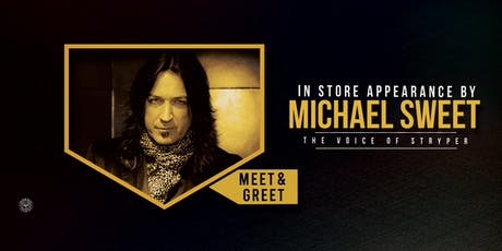 Michael Sweet - Exclusive In store Appearance/Meet & Greet (Sydney) tickets