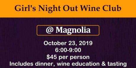 Girl's Night Out Wine Club tickets