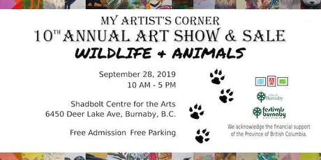Wildlife & Animals Art Show tickets