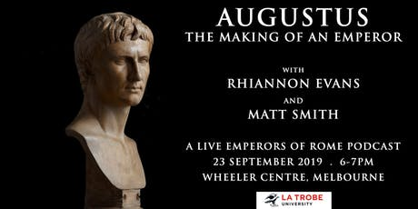 Augustus: The Making of an Emperor (Emperors of Rome podcast live) tickets