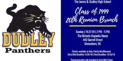 J. B. Dudley High School Class of 1999 - 20th Reunion Brunch