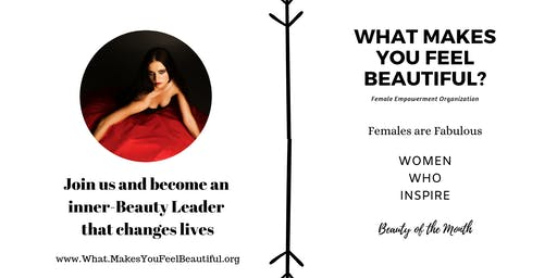 What Makes you Feel Beautiful- Invite to volunteer advisory committee