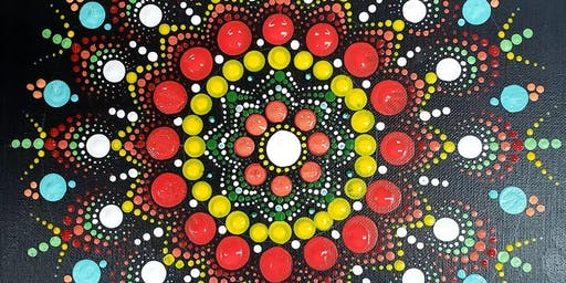 Mandala Dot Painting - all ages, family friendly