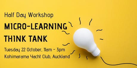 Micro-Learning Think Tank tickets