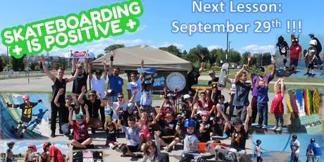 Skateboarding is Positive: Beginner Group Lessons (September 29th) tickets