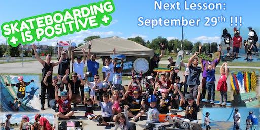 Skateboarding is Positive: Beginner Group Lessons (September 29th)