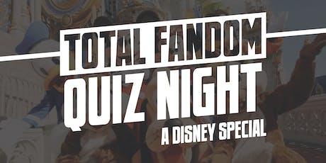Total Fandom Quiz Night - A Disney Special tickets