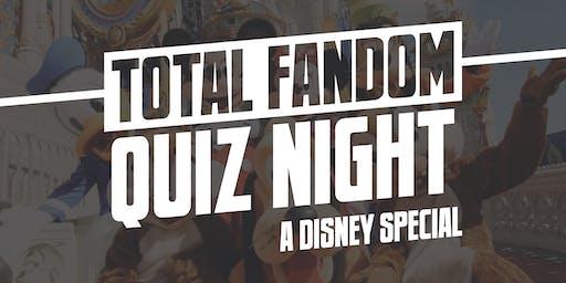 Total Fandom Quiz Night - A Disney Special