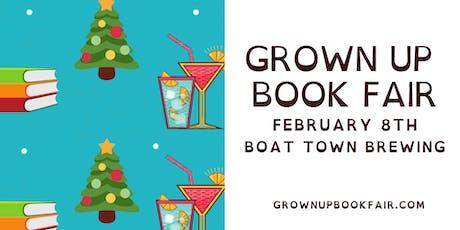 Grown Up Book Fair December tickets