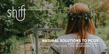 Natural Solutions to PCOS - Brisbane tickets