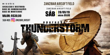 Zanzibar Thunderstorm ingressos