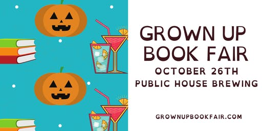 Grown Up Book Fair October