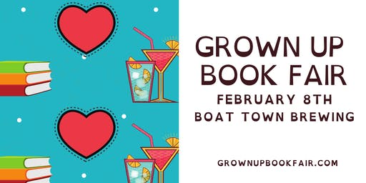 Grown Up Book Fair February