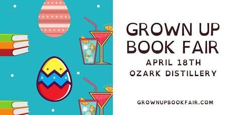 Grown Up Book Fair April tickets