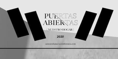 CONFERENCIA PUERTAS ABIERTAS entradas