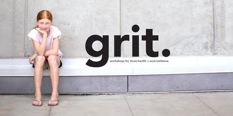 GRIT + Onedance:  Sunday Nov 3 / 8-11yrs 2-3:30pm / 12-16yrs 3:45-5:15pm tickets