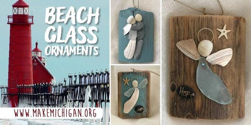 Beach Glass Ornaments - Kalamazoo