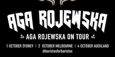 World Barista Champion Aga Rojewska Tour, Sydney tickets