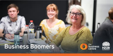 Business Boomers - starting a business for over 50s tickets