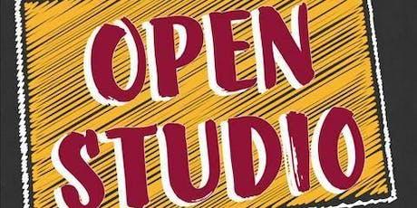 Open Studio - You pick your design! tickets