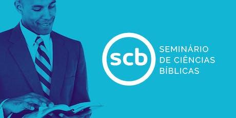 Seminário de Ciências Bíblicas, da SBB, em Nova Friburgo (RJ) ingressos