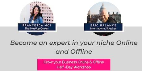 FREE Create Massive Success in your Business Half Day Workshop - Sunshine Coast tickets