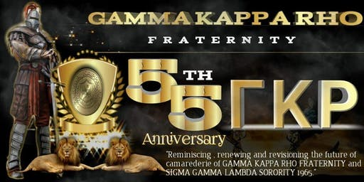 Gamma Kappa Rho 1964 55th Anniversary