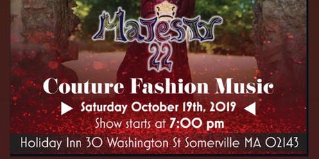 Couture Fashion Music tickets