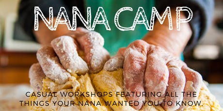 Nana Camp - Reusable Mesh Produce Bags (Oct 9th @6:30) tickets