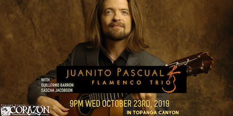 Juanito Pascual FLAMENCO TRIO with Guillermo Barron and  Sascha Jacobson tickets