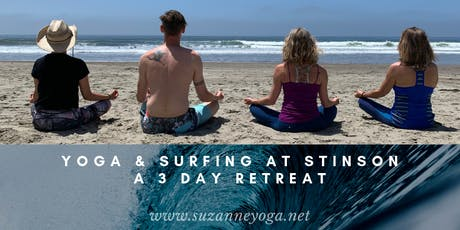 Yoga, Surfing & Meditation Retreat at Stinson Beach tickets