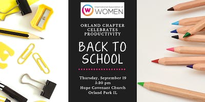 """IAW Orland Park presents """"Back to School"""""""