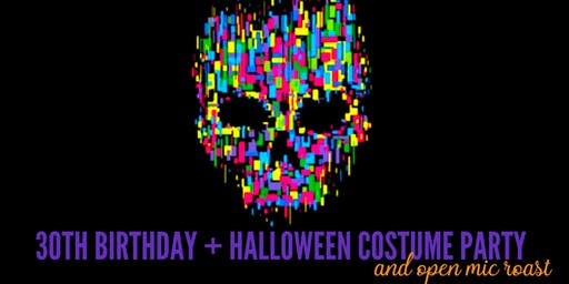 30th Birthday + Halloween Costume Party