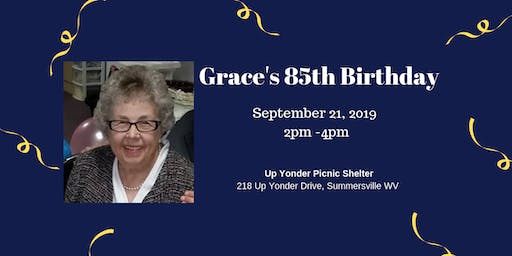Grace's 85th Birthday Party