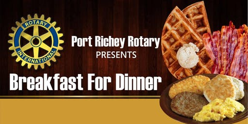 Annual Breakfast For Dinner - Port Richey Rotary