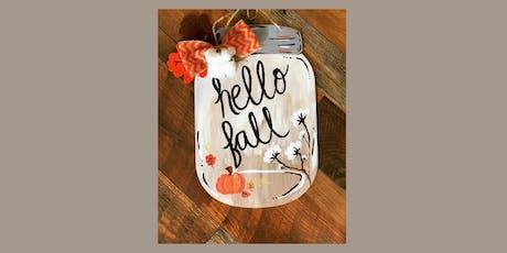 Hello Fall Canvas & Cuisine!  tickets
